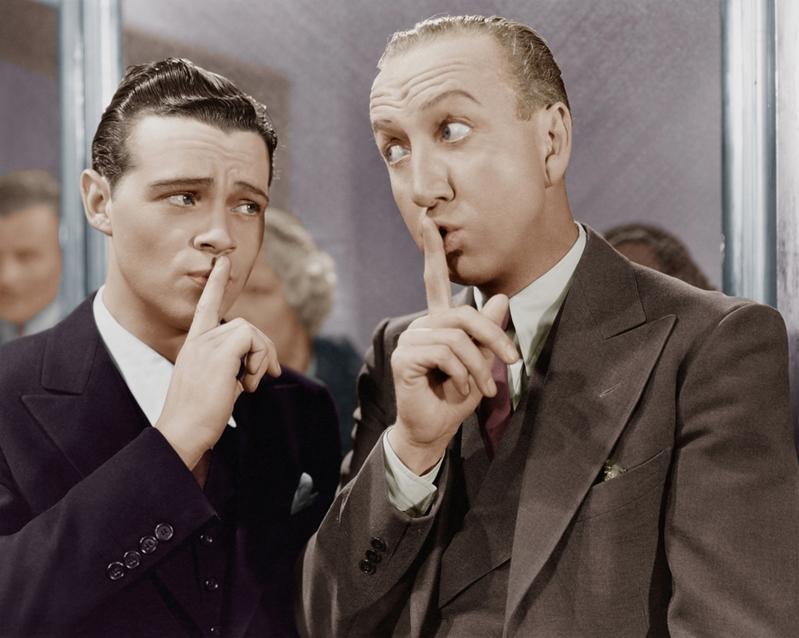 Pictured: Super secret CIA meeting.